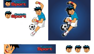 Captain Sport Character Design