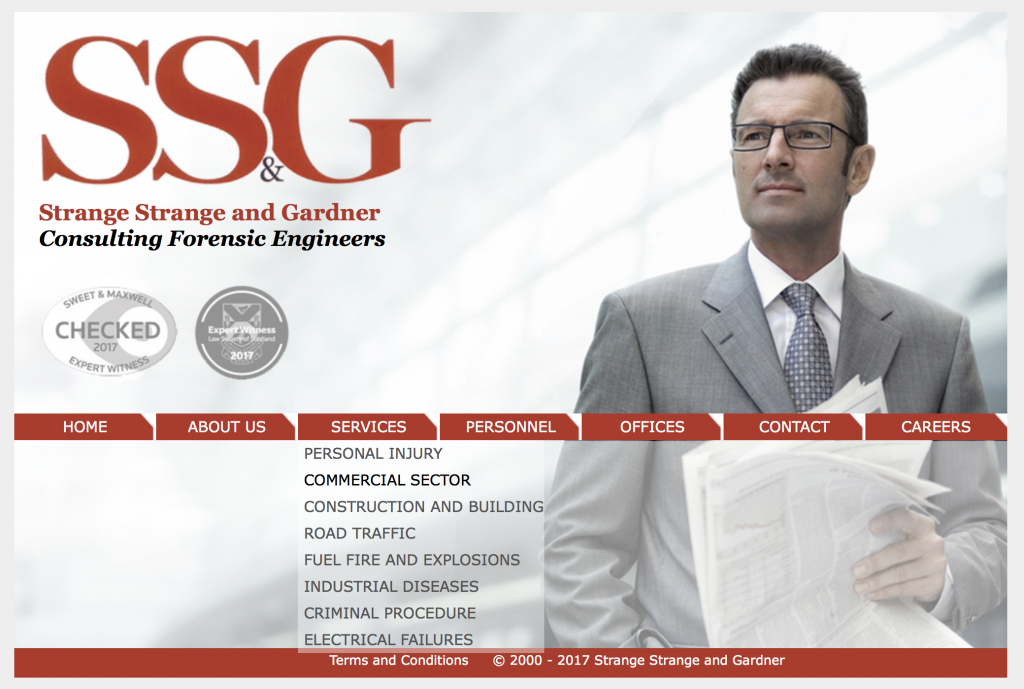 Strange Strange and Gardner Consulting Forensic Engineers