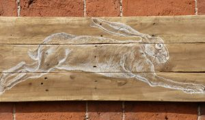 Art on Reclaimed Wood